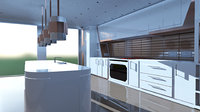 Modern Kitchen #1