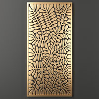 3D decorative panel
