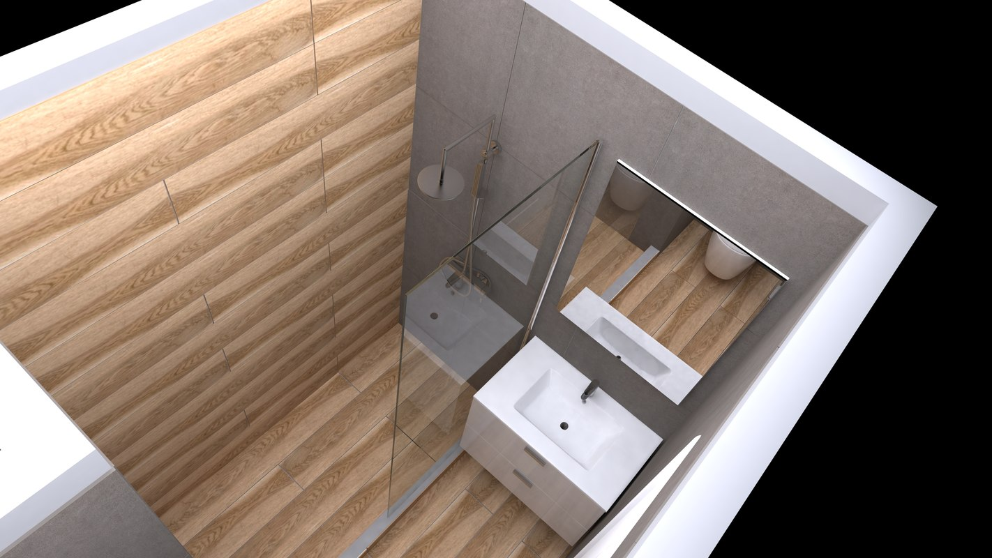 bathroom design 3D model