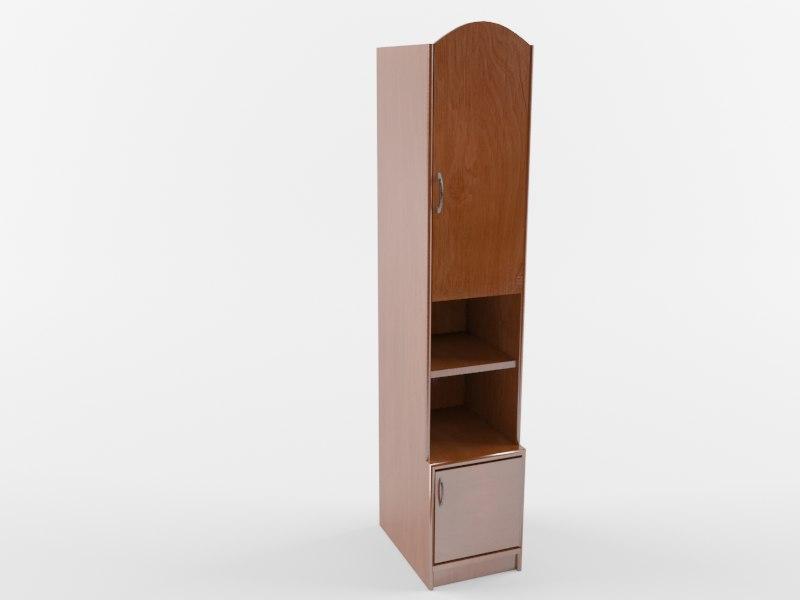 3D cupboard cabinet furniture model
