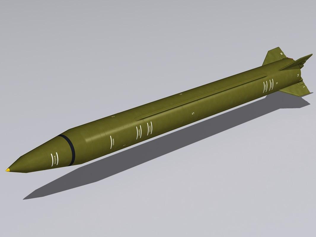 scud missiles 3D