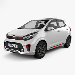 kia picanto morning 3D model