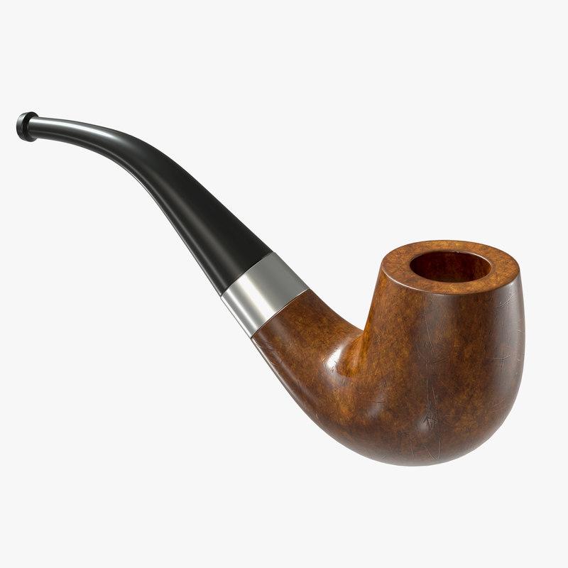 wood pipe model