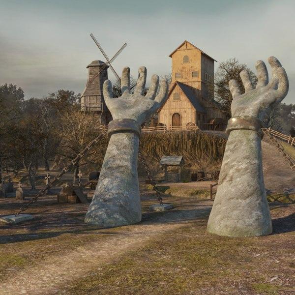 house hill 3D