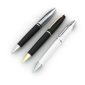 3D model pen office