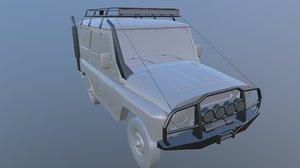 3D offroad kit car