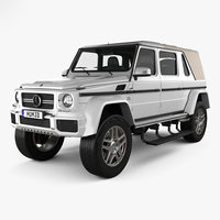 mercedes-benz g-class maybach 3D model