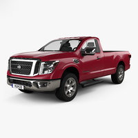 3D nissan titan single model