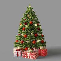 Faux christmas tree