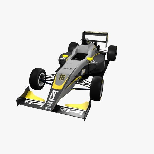 formula 3 3D model