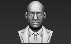 professor x charles xavier 3D model