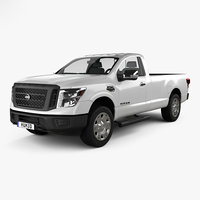 nissan titan single 3D