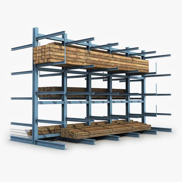 steel storage rack model
