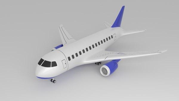 toon plane model