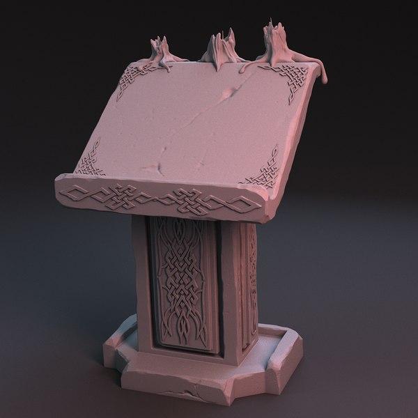 pulpit 3D