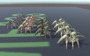 3D creature unity