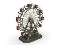 ferriswheel carousel roundabout model