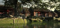 Ming Dynasty - Ancient Buildings by the River 01