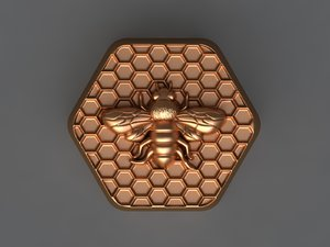 3D bee mould hand