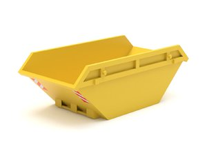 3D container skip model
