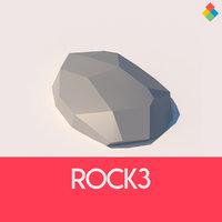 rock stone nature 3D