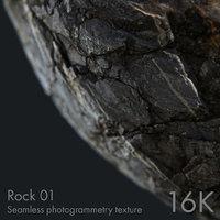 Rock 01 - seamless photogrammetry texture - 16K