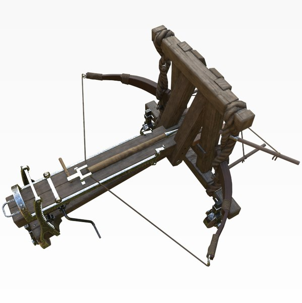 3D model arrow ballista