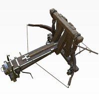 3D model arrow ballista