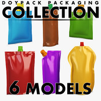doypack packaging volume 1 3D model