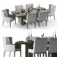 3D model linea dining
