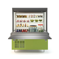 3D showcase refrigerated