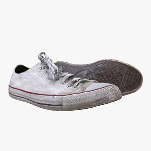 converse shoe 3D