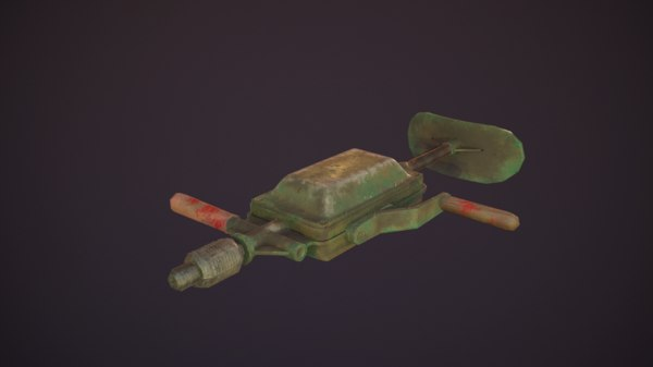 old drill model