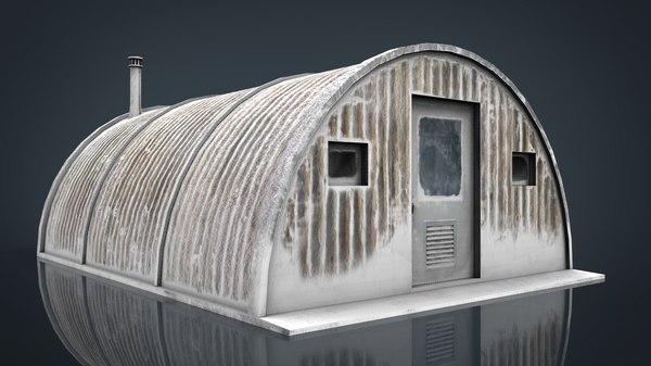 3D artic shelter