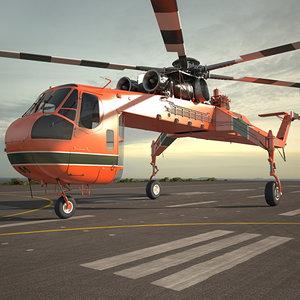 sikorsky s-64 3D model