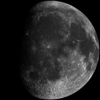 3D model planet moon