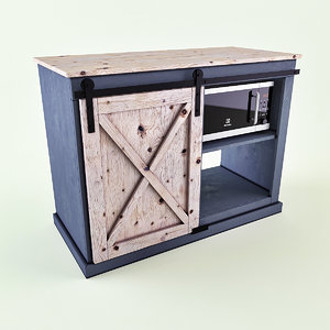 3D snack cabinet