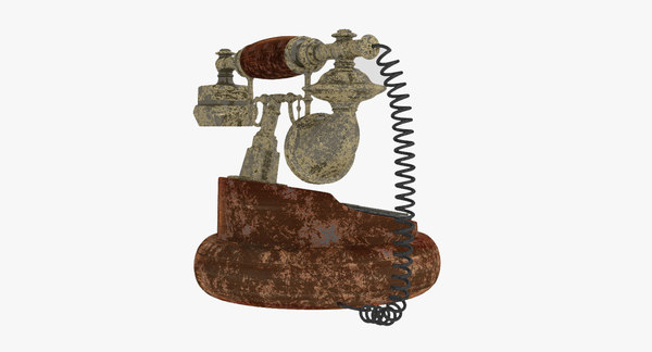 antique rotary dial phone model