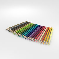 3D pencil color