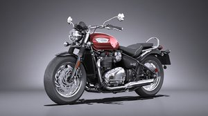 triumph bonneville speedmaster 3D model