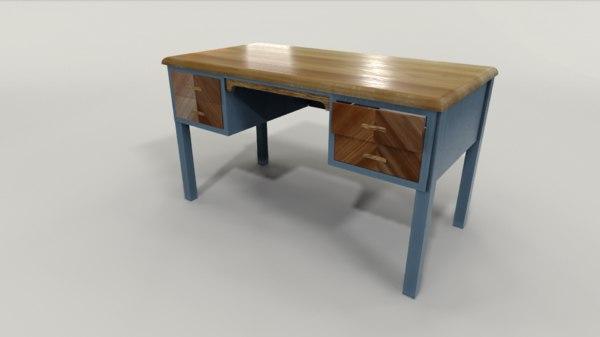 teacher desk model