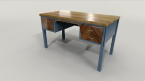 teacher desk model