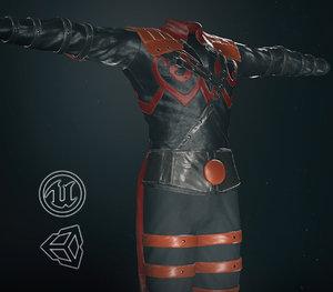post apocalyptic clothing 8 model
