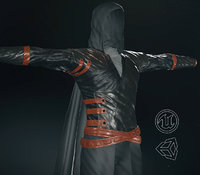 3D post apocalyptic clothing 4