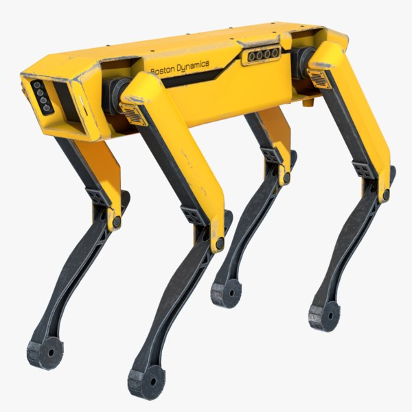 3D model spotmini robot boston dynamics