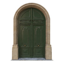 3D door classic entrance model