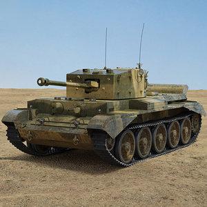 3D cromwell tank model