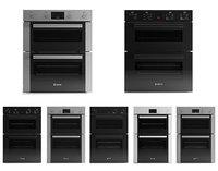 Bosch built-in ovens 7pcs pack 3D model