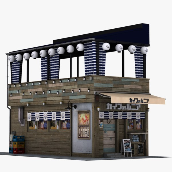 3D tokyo restaurant