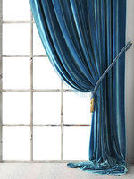 vintage velvet drapery 3D model